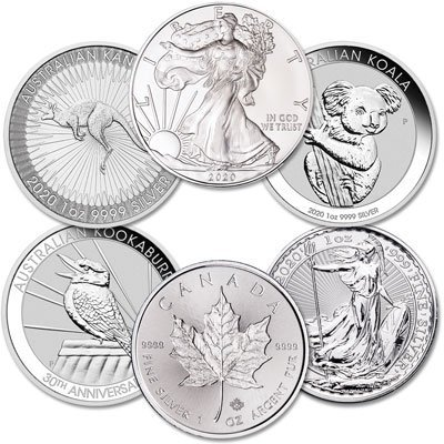 .999 FINE SILVER COINS BUYER